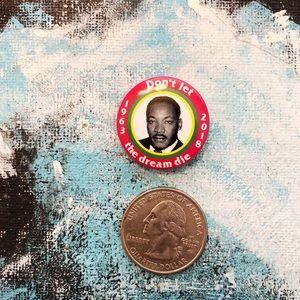 Supreme Martin Luther King Jr MLK Lapel/Hat Pin